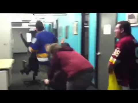 Washington Redskins Cheerleader Chair Race