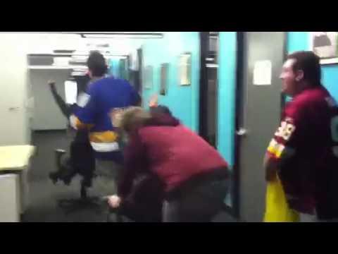 Washington Redskins Cheerleader Chair Race