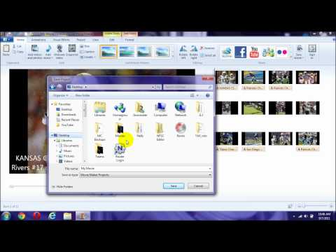 How to Convert Windows Live Movie Maker into Windows Media Player - 2
