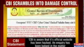 Pakistan Cyber Army Hacked CBI'S Website