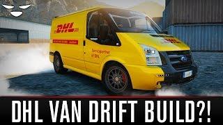 Forza Horizon 2 | Ford Transit SuperSportVan Drift Build (DHL Van Drift Build!)