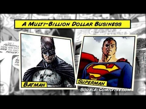 Superman vs. Batman: Battle of Billion-Dollar Capes