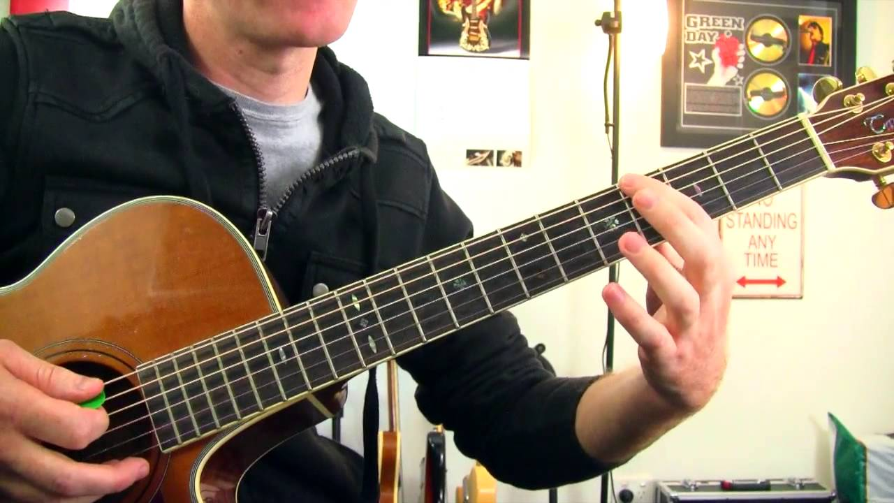 how to play otherside on acoustic guitar