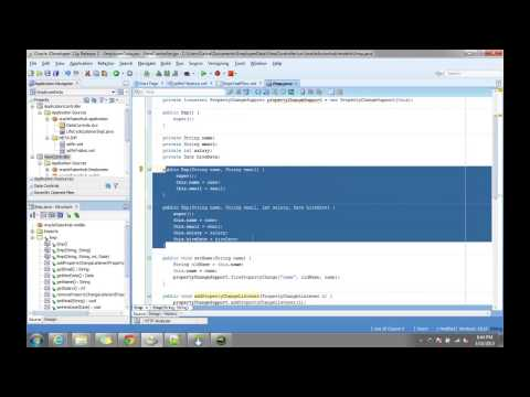 Oracle ADF Mobile - Part 1 - Building a basic Mobile Application