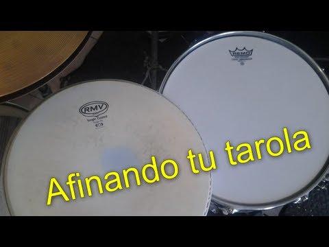 #Tutorial - Aprende a afinar tu tarola (snare drum)