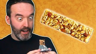 Irish People Try Canadian Granola Bars