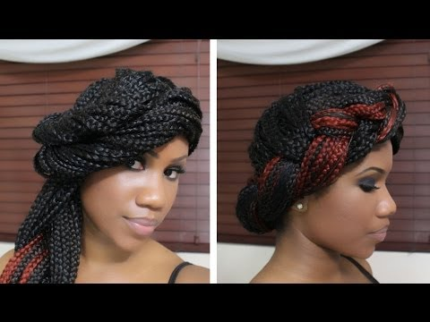 4 Styles for Box Braids Part Two
