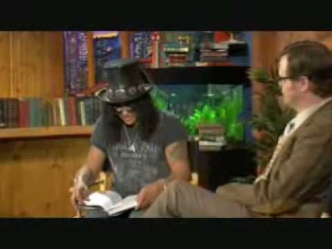 Slash Book Chat with Rainn Wilson FULL