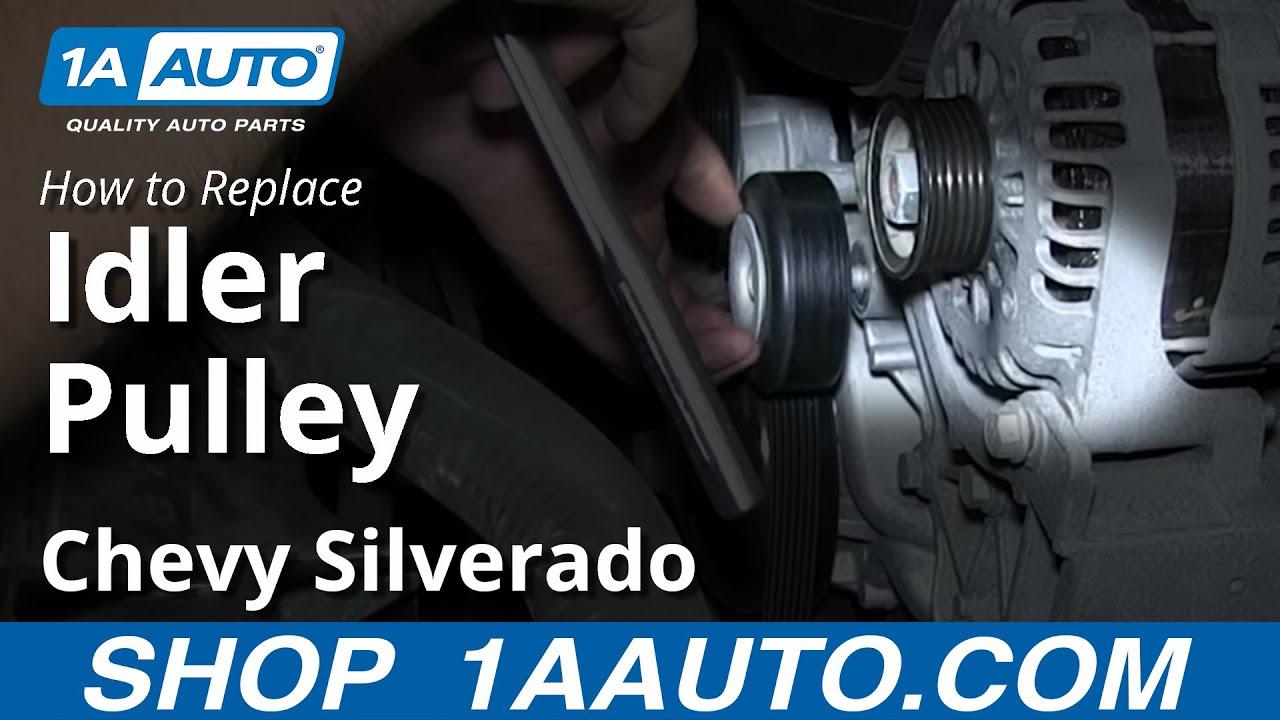 service manual  2013 gmc yukon door serpentine belt and tensioner repair  tensioner bolt 4 2004 GMC Envoy 5.3 2004 Chevy Envoy Xlt Manual
