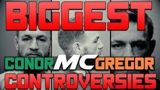 Biggest Conor Mcgregor Controversies