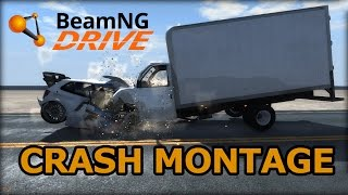 BeamNG Drive Crash Montage  (60FPS)