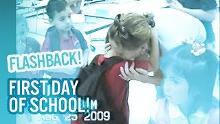 1st Day of School Flashback! | Baby Ariel, Jacob, Sharon, and Jose