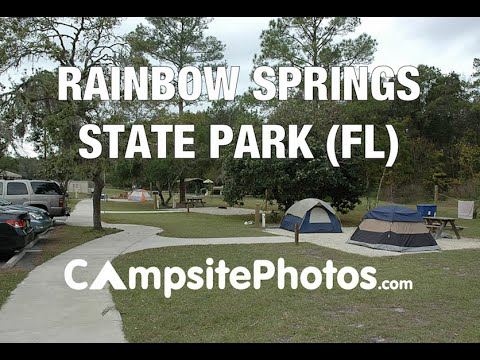 Rainbow Springs State Park, Florida Campsite Photos