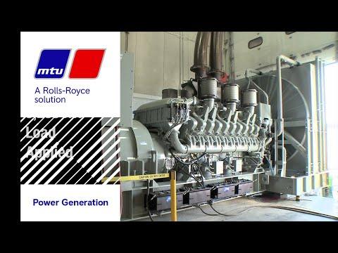 NFPA 110 Type 10 generator set load acceptance test - 3,250 kW MTU Onsite Energy generator set