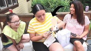 iPhone XS MAX GIFT PRANK ON COUSIN!(she didn't fall for it)