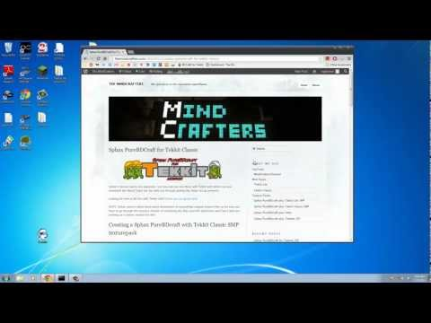 The MindCrafters - Tutorial - Installing Sphax PureBDcraft for Tekkit Classic