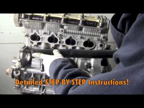 How To Rebuild Your Honda Prelude H Series Engine DIY DVD