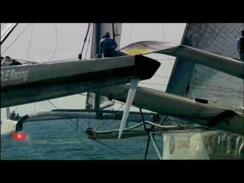 33e America's Cup - First race