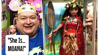 "Disney Store Second Moana 17"" Limited Edition Doll✨- Magical Monday!"