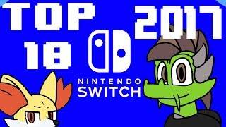 TOP 10: Nintendo Switch Games Released So Far