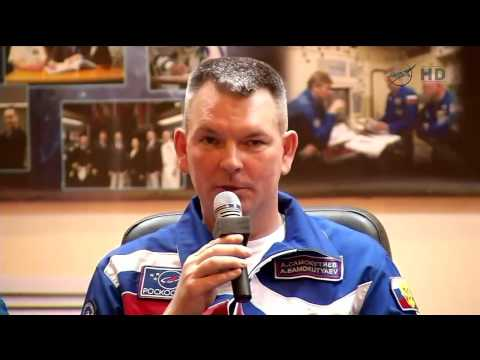 ISS Expedition 41 / 42 - Pre-Launch Crew News Conference in Baikonur Kazakhstan