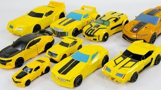 Transformers Movie RID Prime Generations EASY Bumblebee 9 Vehicles Car Robot Toys