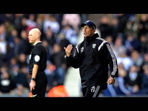 Tony Pulis is interviewed after Albion's 1-0 Premier League win over Southampton