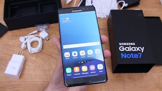 Galaxy Note 7 Unboxing and Impressions!