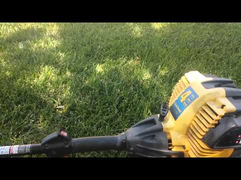 Update on the Cub Cadet CC4175 4 cycle trimmer