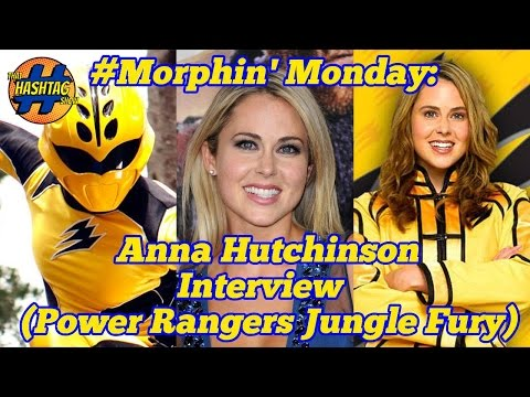 Anna Hutchinson (Power Rangers Jungle Fury) Interview: Morphin' Monday