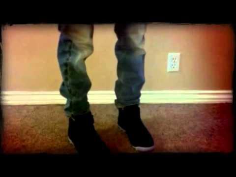 Jordan retro 10 venom green on foot  (Created with @Magisto