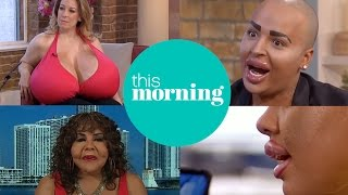 Extraordinary People With Extreme Cosmetic Surgery | This Morning