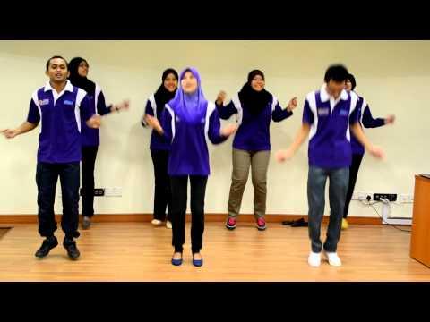 Upsi Tarian Lagu Asing (oh Oh Oh & Gelimat) video
