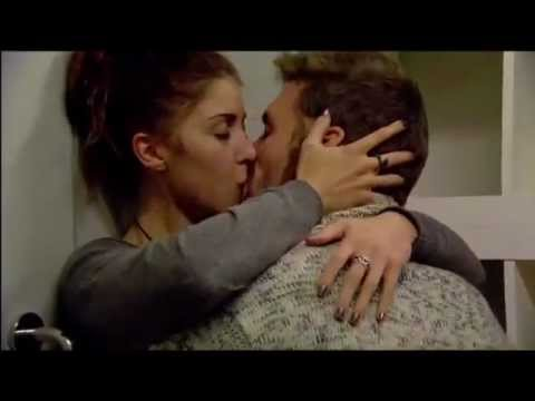 Day 38:  Aaron and Faye - sudden store room snogging