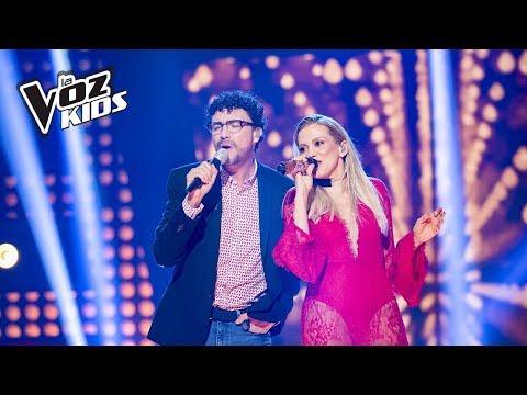 Fanny Lu y Andrés Cepeda cantan Amor Verdadero   La Voz Kids Colombia 2018