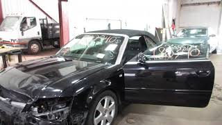 Parting out a 2006 Audi A4 Parts Car - 180340 - Tom's Foreign Auto Parts
