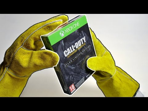 CALL OF DUTY ADVANCED WARFARE LIMITED EDITION! Unboxing Atlas Collector's Edition Zombies Gameplay