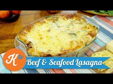 Resep Beef & Seafood Lasagna | YUDA BUSTARA