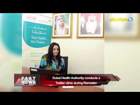 141-1 English: Dubai Health Authority conducts a Twitter clinic during Ramadan