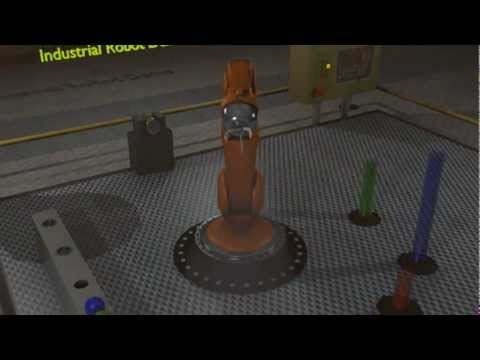 3D Animation – Industrial Robot