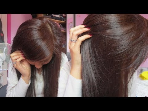 How To Dye Black Hair to Brown (without bleaching) very light ash blonde | Emily
