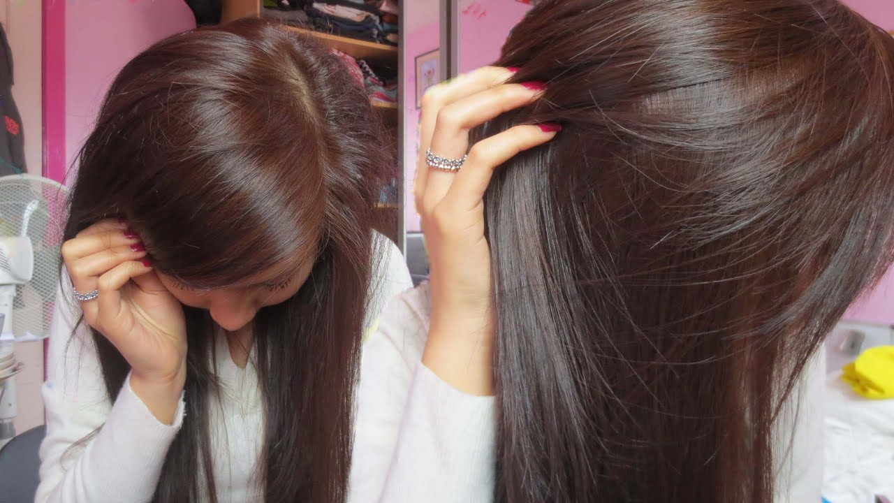 How To Dye Black Hair to Brown (without bleaching) - very light ash ...