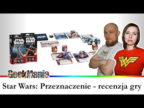 STAR WARS: PRZEZNACZENIE - recenzja gry kościano-karcianej || GeekMania.pl