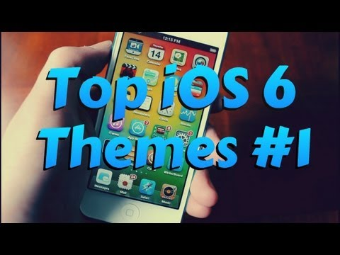 Top iOS 6 WinterBoard Themes for iPhone. iPod Touch. iPad (Part 1)