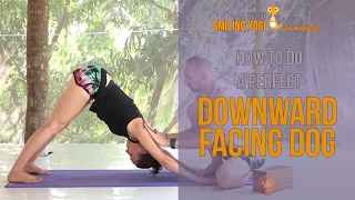 Downward Facing Dog for beginners - correct alignment (yoga)