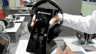 CES 2012_ Sennheiser RS 220 Wireless Headphones