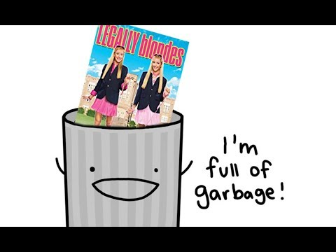 legally blondeS is a garbage movie