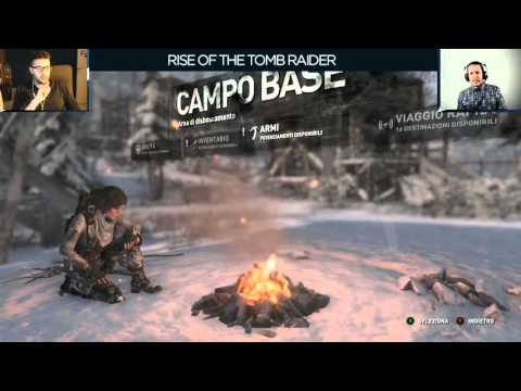 Rise of the Tomb Raider - Everyeye.it Live Streaming