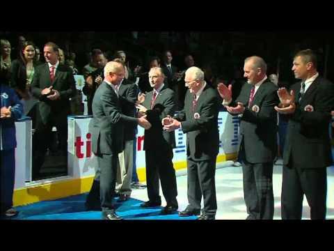 Hockey Hall Of Fame Ceremony November 12th 2011 (video)