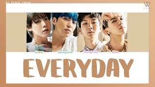 [COLOR CODED/THAISUB] WINNER - Everyday #?????????